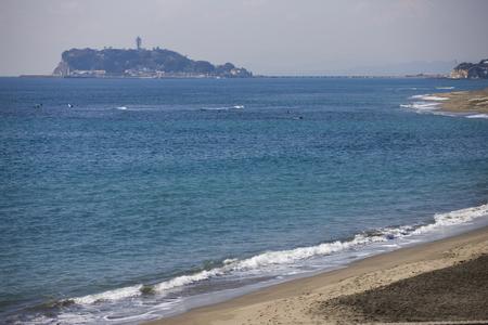 enoshima: Inamura GA Cape sea