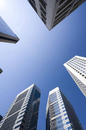 urbanscape: Otemachi building Stock Photo