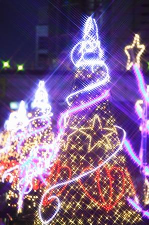 vertical orientation: Christmas tree