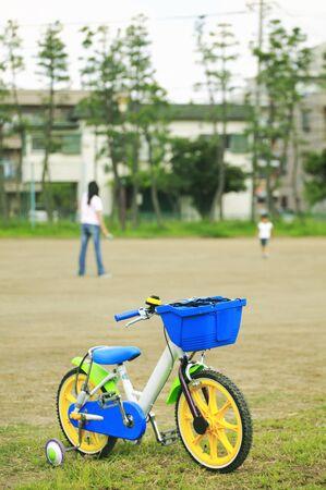 training wheels: Bike Stock Photo