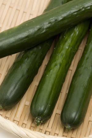 sureness: Cucumber Stock Photo