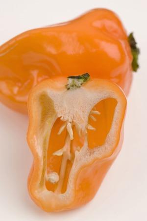 angry vegetable: Habanero