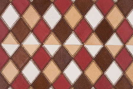 patchwork: Sheep leather patchwork