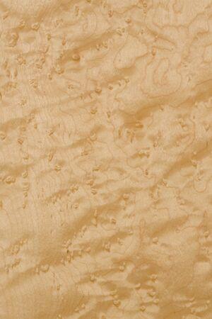 blindness: Birdseye maple leaf Birdseye maple, imported timber Stock Photo