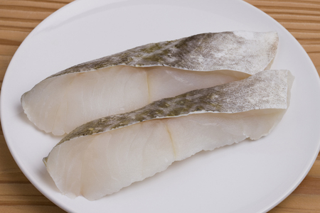 Cod fillets Stock Photo
