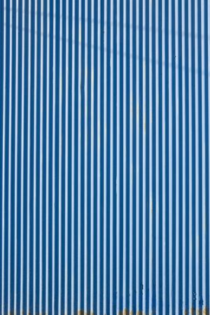 blue walls: Tin wall