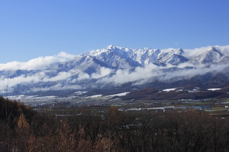 snowcovered: Of Snow-Covered mount ashibetsu
