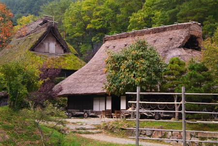 folk village: At Hida Folk Village