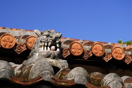 ryukyu: Shisa Ryukyu village