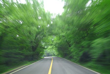 zoom: Road zoom Stock Photo