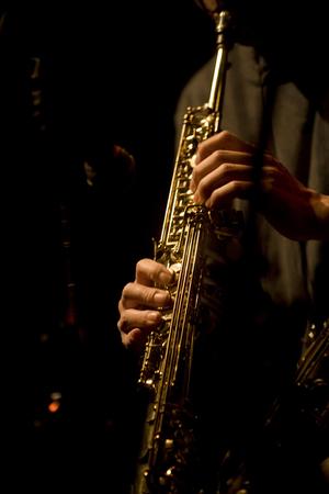 the soprano: Soprano sax