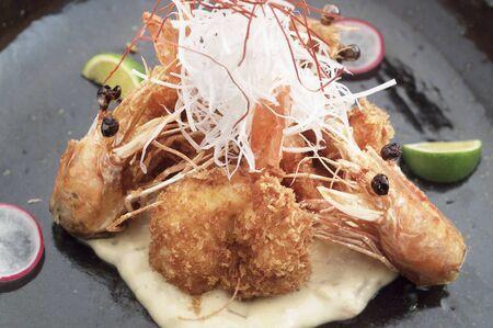 batters: Fried shrimp