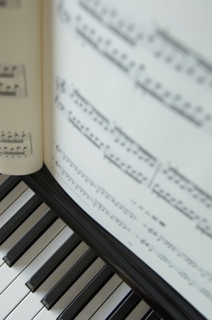 etude: Piano and music