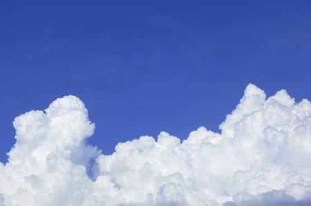 入道雲 写真素材