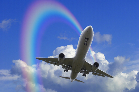 image: Airplane image Stock Photo