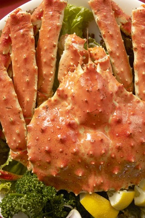 marine crustaceans: King crab
