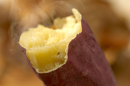Baked sweet potato 版權商用圖片