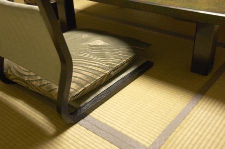 legless: Japanese-style room Stock Photo