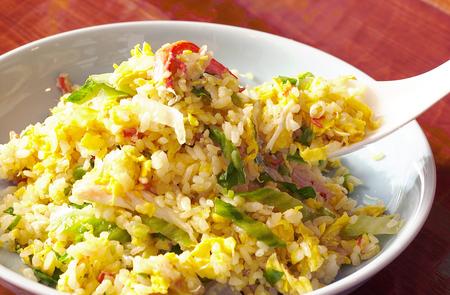 Gebratener Reis Standard-Bild - 47144492