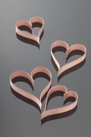 ribbon heart: Ribbon heart