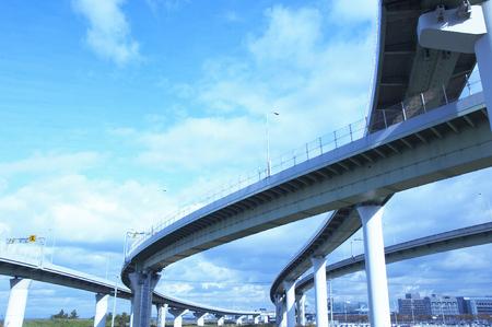 高速道路 写真素材