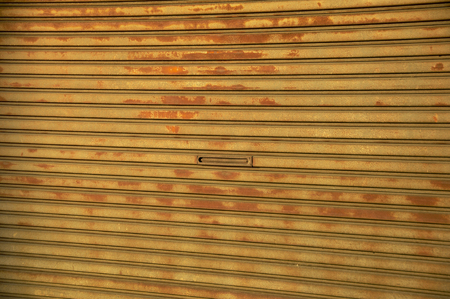 rusted: Rusted shutter