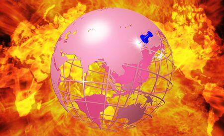 Earth, CG Stock Photo