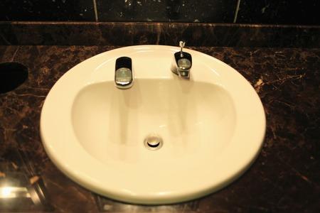 wash: Wash basin Stock Photo