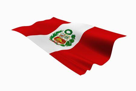 republic of peru: National flag