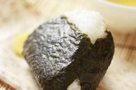 dry provisions: Rice ball
