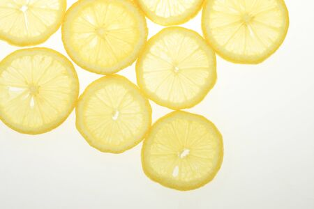 lemon slice: Slice of lemon