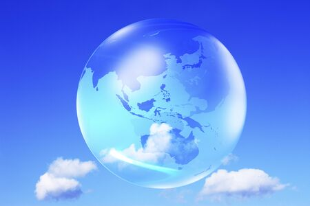 firmament: The globe in the sky