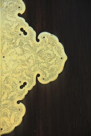 solemnity: Engraving ornament door