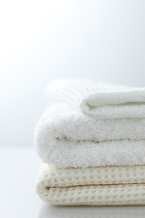 cleansed: Terry cloth Stock Photo
