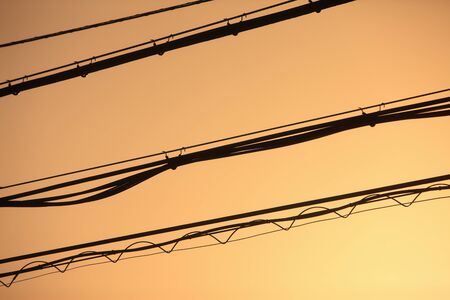 electric wire: Electric wire