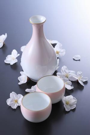 harmonize: Cherry blossoms and alcohol