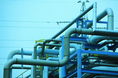 production area: Pipes