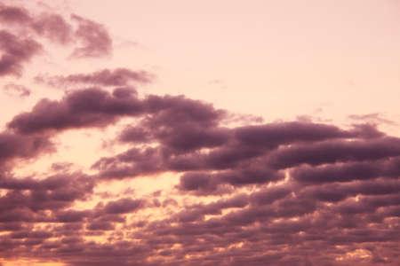 amanecer: Cielo resplandor Foto de archivo