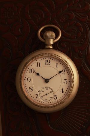 retro: Pocket Watch Stock Photo
