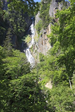 Ginga falls 写真素材