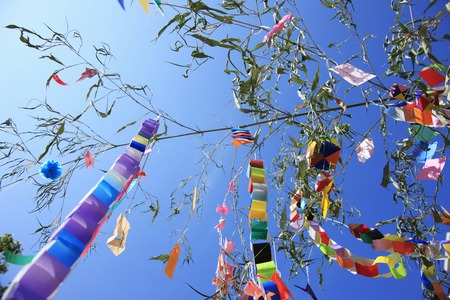 Tanabata Foto de archivo - 47153482