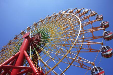 revolve: Ferris wheel Stock Photo