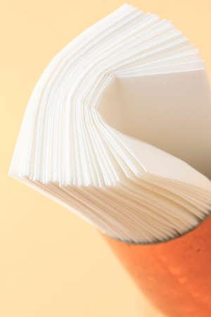 servilleta: Servilleta de papel