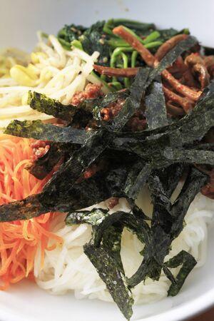 ethnic mix: Bibimbap