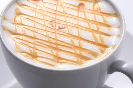 dulce de leche: Caramel Latte Foto de archivo