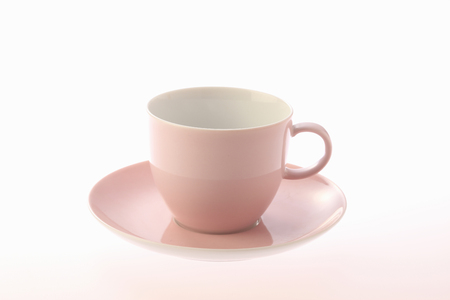 cup and saucer: Cup  saucer Stock Photo