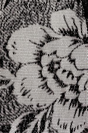 black ancestry: Lace pattern Stock Photo