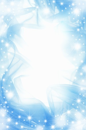 Blue cloth Stock Photo