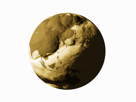 depletion: Globe of irregularities