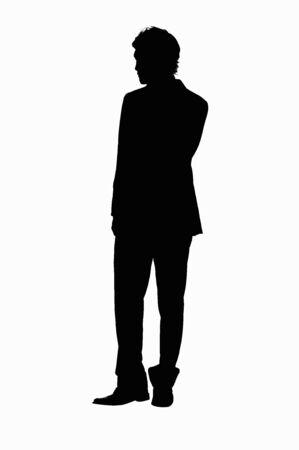Silhouette Reklamní fotografie